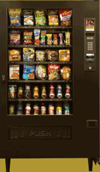 Automatic Products UltraFlex snack or combo vending machine